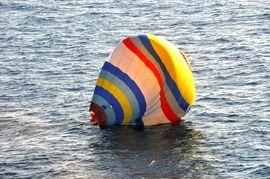 热气球坠海.