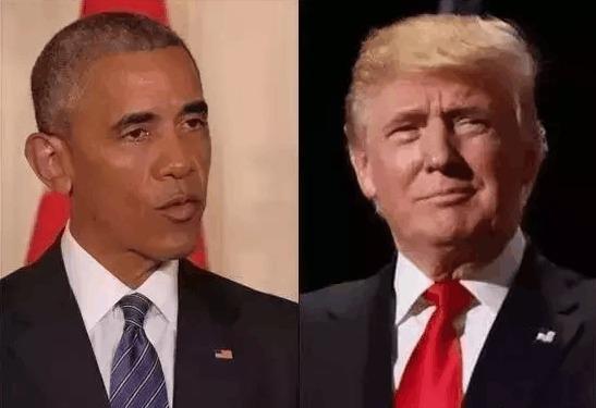 奥巴马特朗普接连出招美国犹如两个总统
