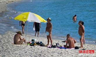 三亚现全裸天体海滩 堪比海天盛宴
