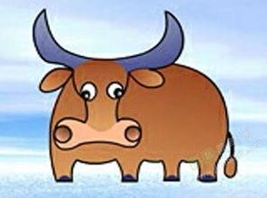 牛的简笔画 牛怎么画简笔画视频教程
