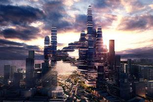 深圳有望建680米高空中城市收集雨水风能