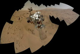 跟随好奇号游火星感受红色星球魅力