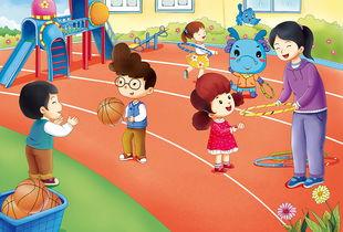 幼儿园插画