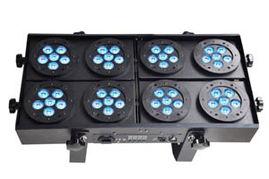 Audience light,LED Q1048,48pcs 10w RGBW 4 in 1 Quad color leds