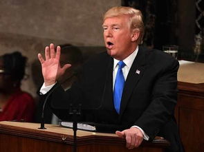 2018年1月30日,特朗普首次发表国情咨文.