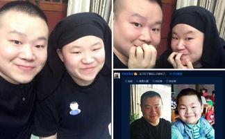 岳云鹏与撞脸的妹子合影俩人长得一模一样组图