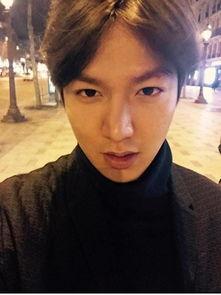 李敏镐当选韩国成年日最想获得亲吻男艺人