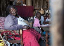 非洲一部落,女人越肥男人越喜欢,第一美人300斤胖到无法行走