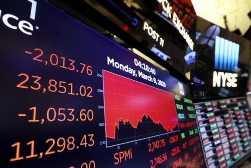 油价大跌与疫情扩散引发纽约股市暴跌逾7%