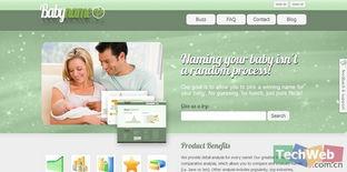 BabyNameMo 英文名字分析平台