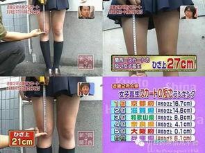 日本女高校生裙子刷新 最短记录 裙沿紧贴内裤