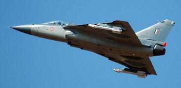 资料图:印度国产lca战机.