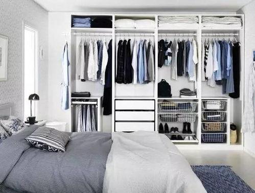 設計衣柜里放個床