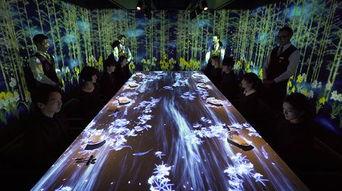 每天只接客8人 这个东京虚拟餐厅有点热