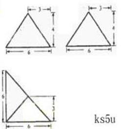 如右上图所示.一个空间几何体的正视图和侧视图都是边长为1的正方形.俯视图是一个直径为1的圆.那么这个几何体的全面积为 . 青夏教育精英家教网