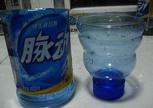 饮料瓶变水养花盆