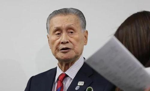 3月4日,东京奥组委主席森喜朗在新闻发布会上.
