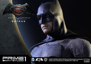 电影 蝙蝠侠大战超人 推出1 2超大雕像系列 蜡像级头雕细节丰富 7