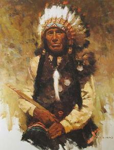 梁卓舒 印第安人
