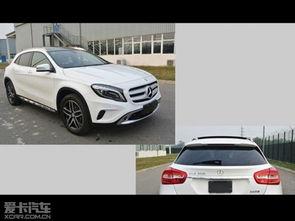 宝马X3 M 奔驰GLA 200等曝光 周末谍报