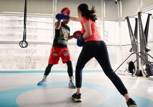 健身房教的拳课后面变成散打