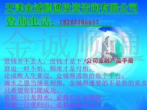 天津房屋抵押贷款(在天津办理房产抵押贷)
