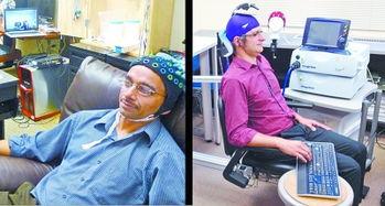 在这项实验中,美国华盛顿大学心理学教授安德里亚-斯托科扮演大脑奴隶的角色,华盛顿大学计算机科学和工程学教授拉杰什-拉奥扮演