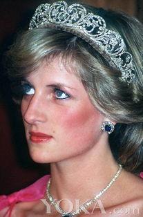 皇家气派戴安娜王妃珠宝全记录