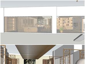 精品茶室室内草图大师模型设计图下载 图片18.47MB 酒店餐饮库 室内模型