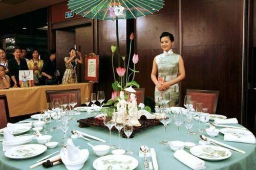 中国近现代的餐桌礼仪