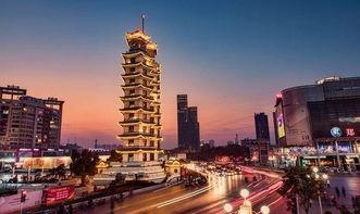 郑州标志性建筑——二七纪念塔