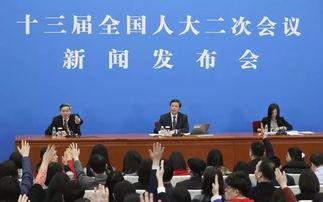十三届全国人大二次会议新闻发布会.
