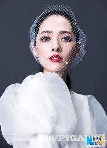 山西网络广播电视台 郭碧婷高贵浪漫演绎法式摩登 头戴面纱明眸似水