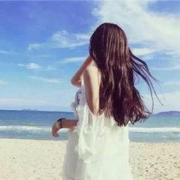 美女头像背影图片气质 最艰难的那一个从来不是你