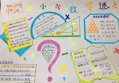 数学小知识手抄报四年级