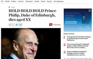 96岁的菲利普亲王在本周三正式退休了,长达一生的公职生涯画上了句点。