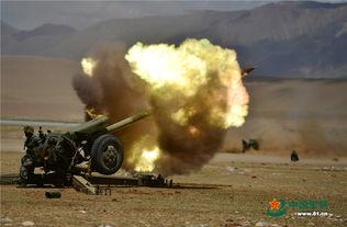 特约记者驻藏某山地旅炮兵分队进行实弹射击训练