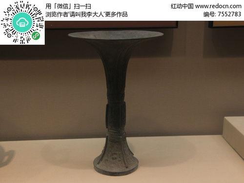 商代青铜觚高清图片下载编号7552783红动网