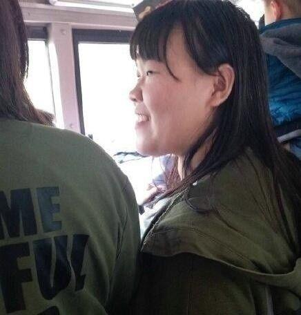 撞脸岳云鹏的女网友