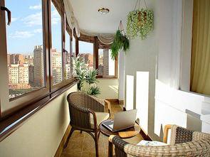 高层封闭阳台养花设计6
