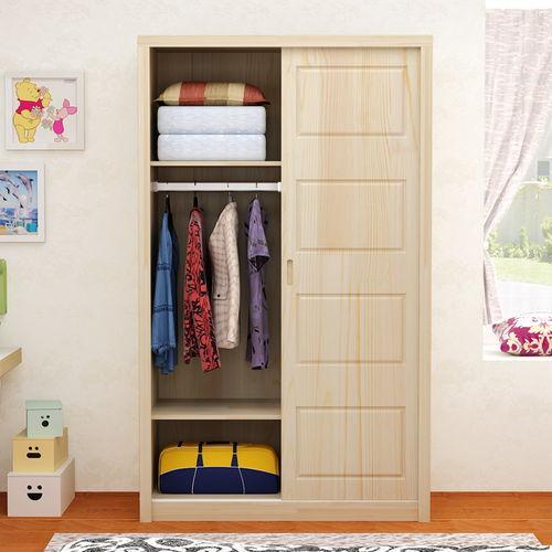 定做松木家具衣柜