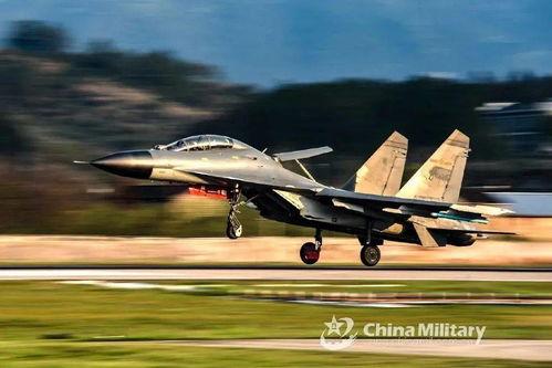 东部战区某部重型歼-11bs战机图源:中国军网