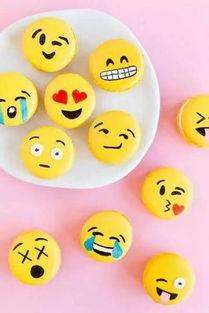 当emoji表情变成甜点,你最想吃哪一个