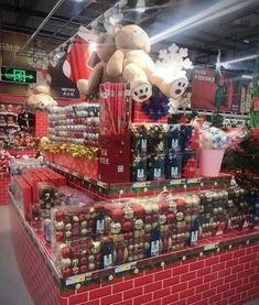 你的超市圣诞节陈列做好了吗 一组超市圣诞节陈列欣赏
