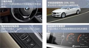 宝马3系GT产品说明图集