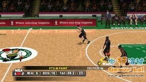 PSP NBA篮球2K11 评测 职业篮球的典范