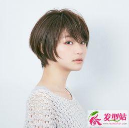 最新初夏女生短发发型