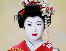 日本艺伎风情万种的生活