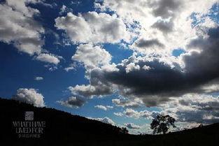 草原的天空蓝的透彻-驴友俱乐部