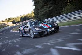 918 Spyder破纽伯格林赛道单圈最佳记录